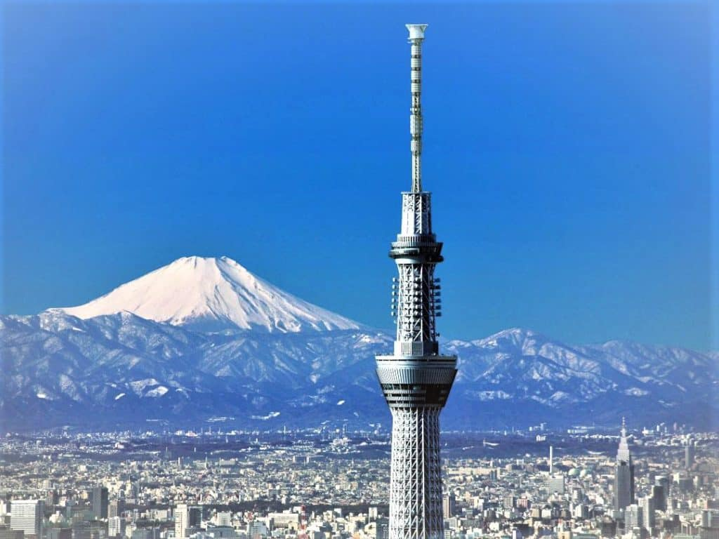 Телебашня Токио