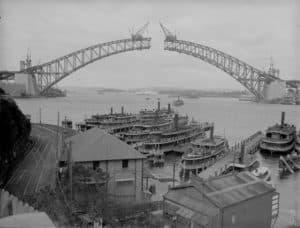 Более 8 лет ушло на возведение сиднейского моста