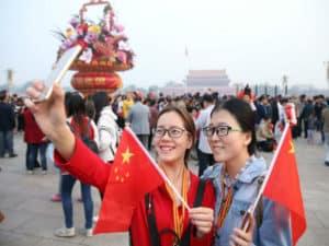 В Пекине очень много приезжих
