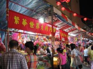 Населен в основном китайцами