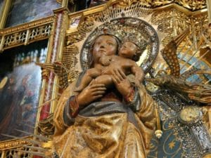 Дева Мария Альмудена Мадрид