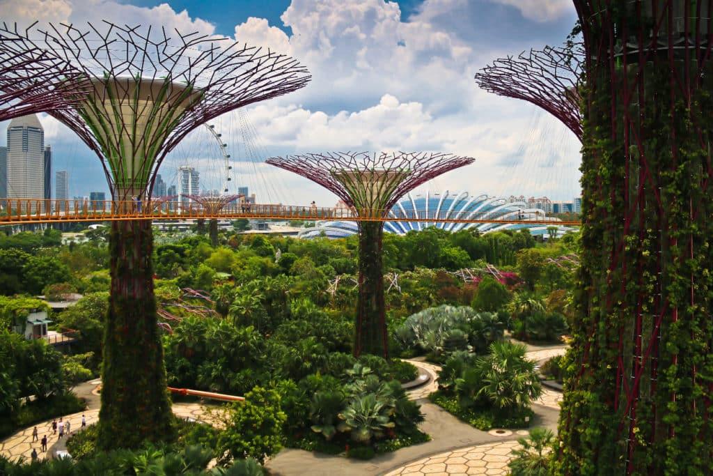 Футуристические сады