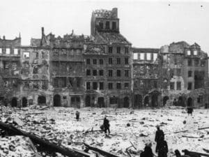 Варшава в годы войны