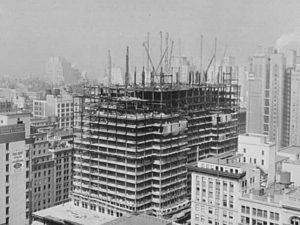 Начало строительства пришлось на 1970 год