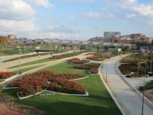 Парк Мадрид-Рио