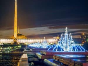 Парк Победы в Москве воплотил в себе гордость за солдат