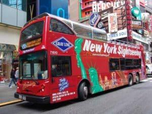 Туристический экскурсионный автобус