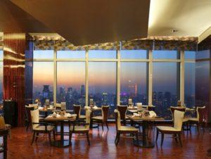 Ресторан на 91 этаже