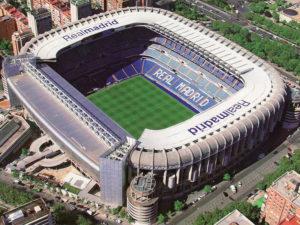Футбольный стадион команды «Реал»