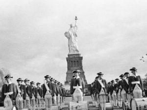 Торжественное открытие монумента произошло 28 октября 1886 года