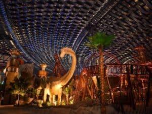 На территории Dinosaur park находится лаборатория Dino