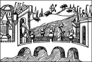 Рисунок из книги Марко Поло