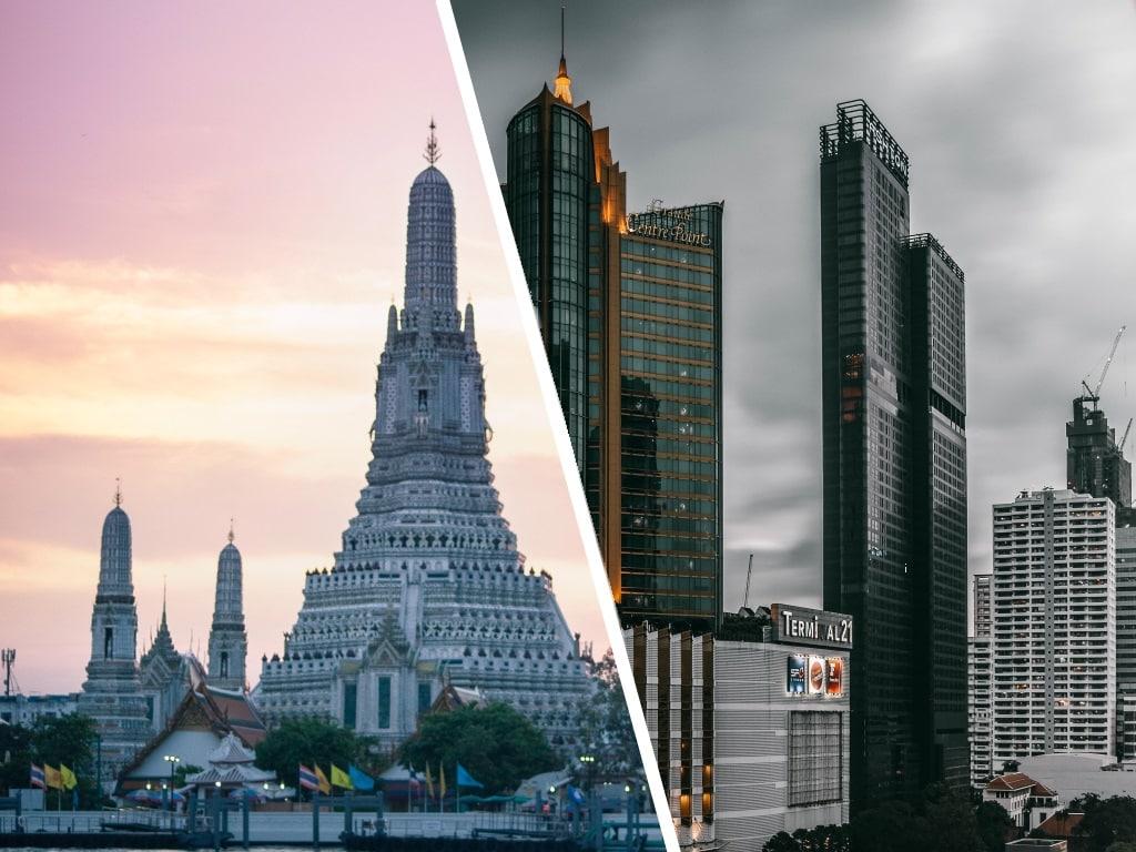 Бангкок. Что посмотреть за 1-2 дня самостоятельно, достопримечательности на карте, фото