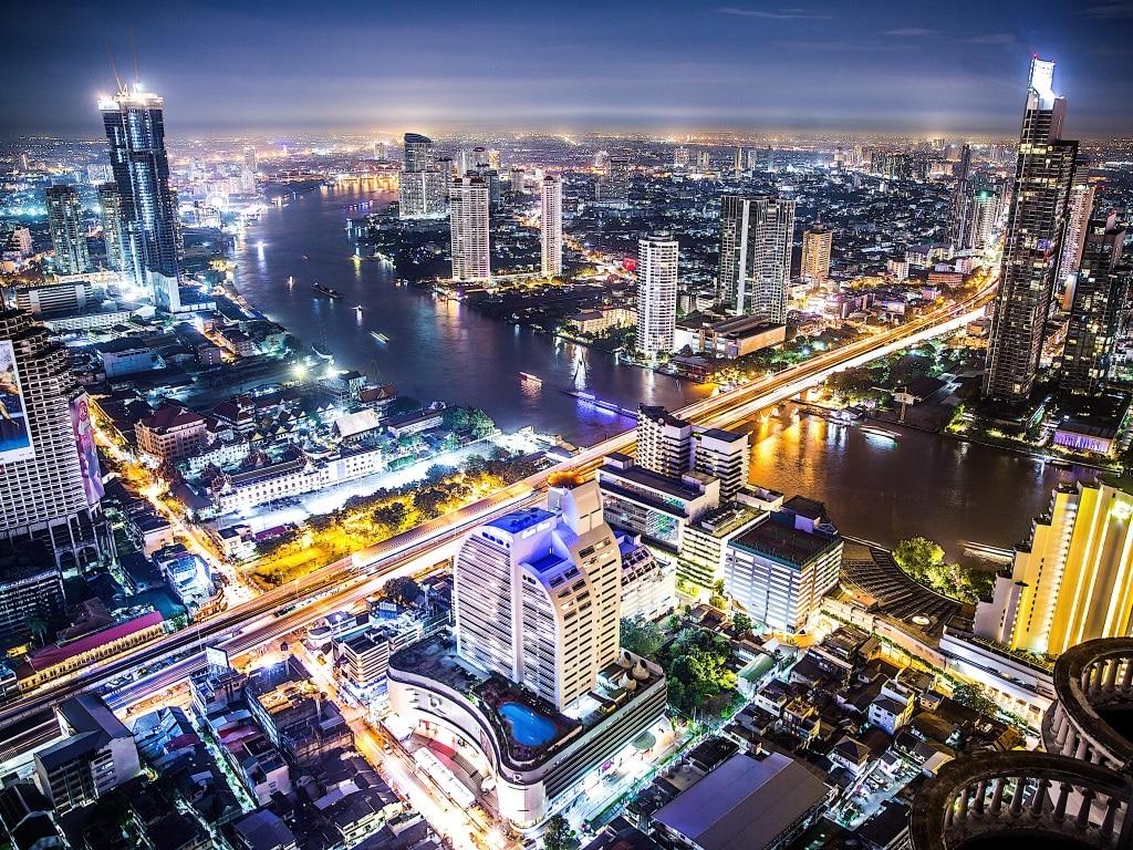 Город Бангкок История территория районы достопримечательности шоппинг -