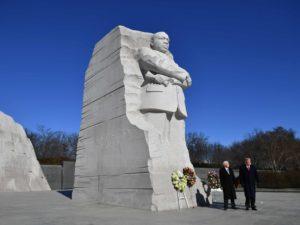 Памятник Мартину Лютеру Кингу