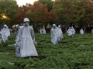 Памятник ветеранам корейской войны