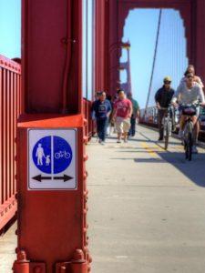 Прогулка пешком, на велосипеде