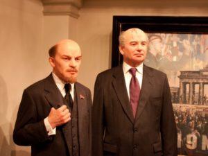 Ленин и Горбачев