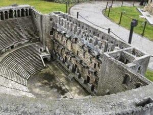 Руины Аспендоса