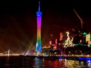 Телебашня Canton Tower